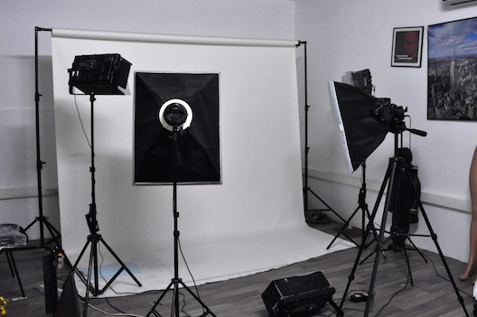 Inside Jumia Morocco's warehouse: the photo studio