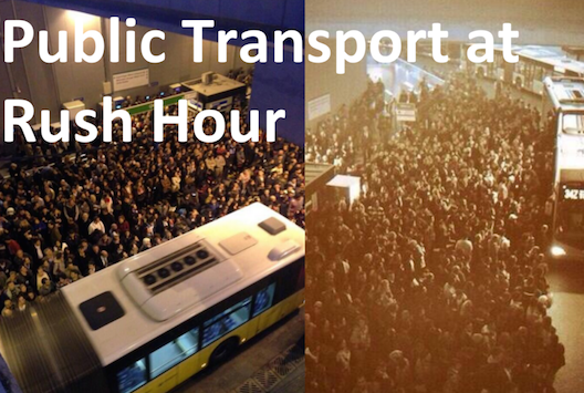 Istanbul rush hour sucks