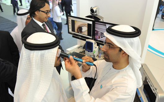 FVC and Du demo the capabilities of telemedicine at GITEX