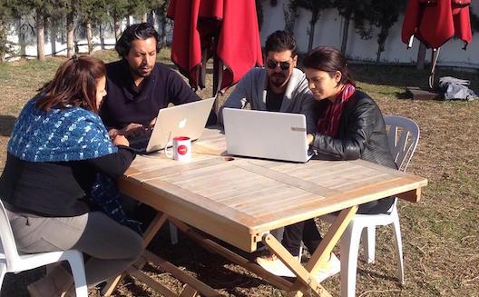 Innova Tunisie en plein travail