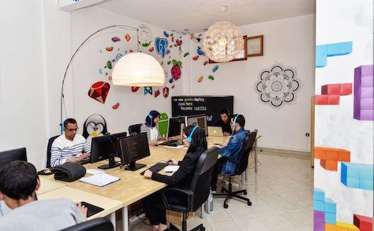 Les bureaux de House of Geeks à Agadir