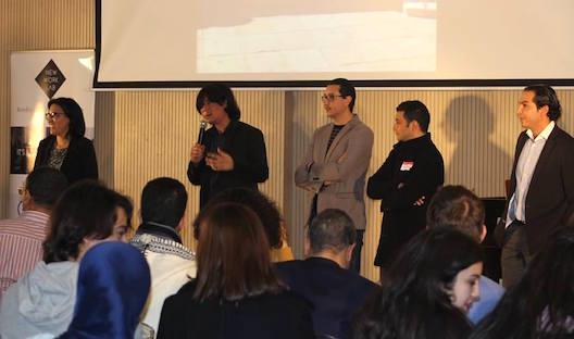 Yassine Arif remercie le public d'avoir voté pour The Wall Games