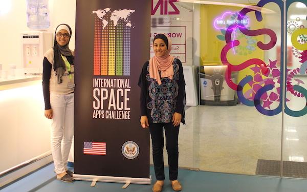 Rasha Khateeb and Maram Abu Hussein