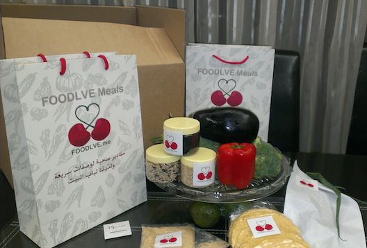 The Foodlve packaging