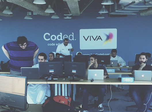 First day of bootcamp at Viva Coded Academy