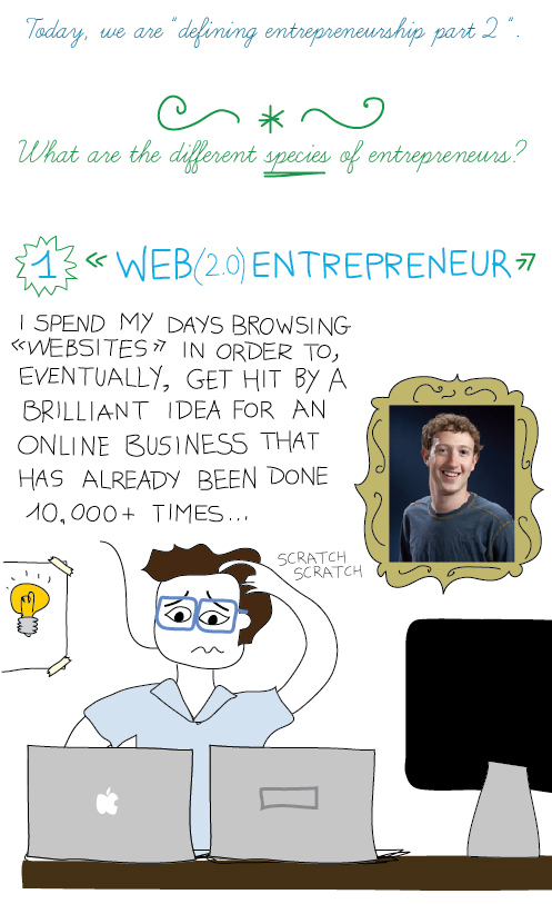 Web entrepreneur: I spend my days browsing