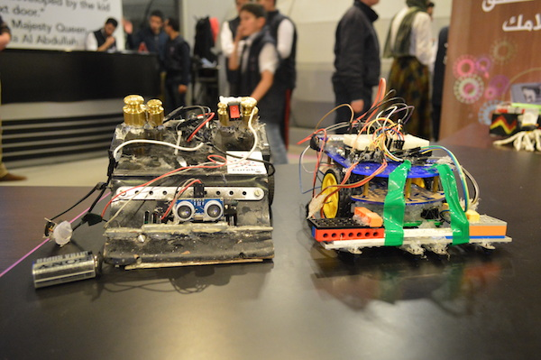 Robots produced by the students