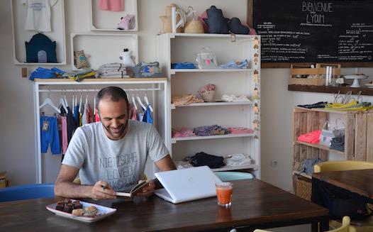 Sofiène Ben Châabane at his store Lyoum in La Marsa