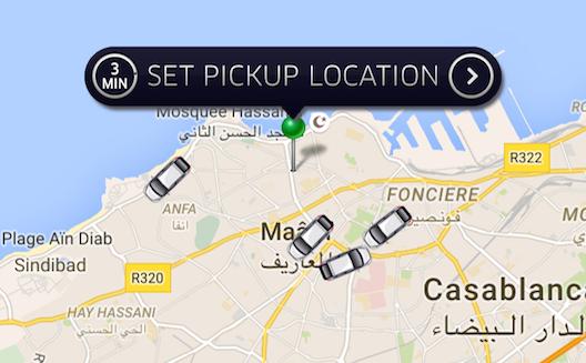 Uber Maroc, premières heures à Casablanca
