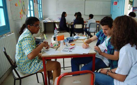 L'espace de deux jours, les étudiants se sont mis dans la peau d'entrepreneurs