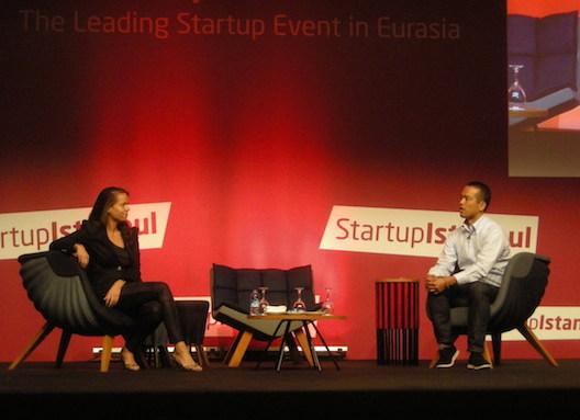 Teru Sato at Startup Istanbul 2015