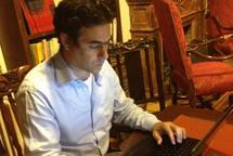 Lebanese Telecoms Minister Nicolas Sehnaoui