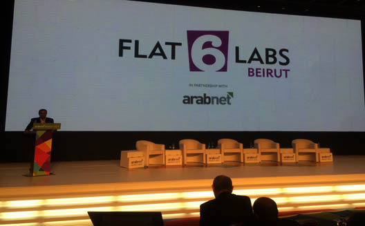 Flat6Labs cofounder Hany El-Sonbaty announces a new Flat6Labs accelerator in Beirut