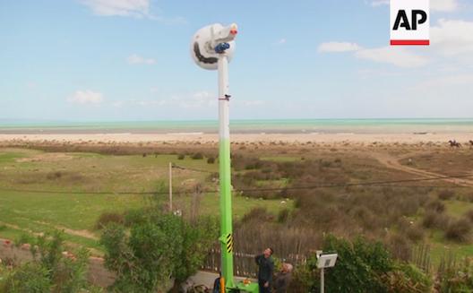 L'éolienne de Saphon : moins chère, plus efficace, plus sûre