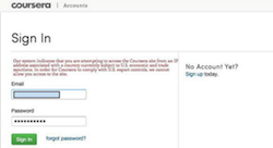 Coursera blocks students in Syria