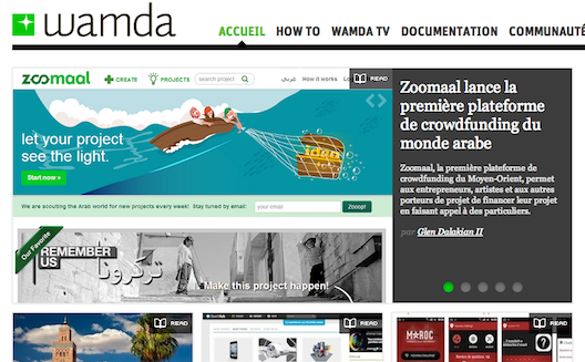 Wamda launches in French