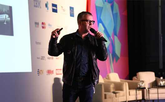 Mike Butcher at Startup Turkey