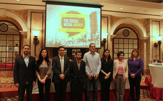 Social Media Awards Beirut