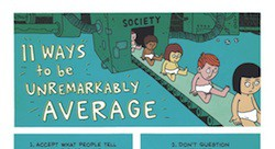Ways to be unremarkably average
