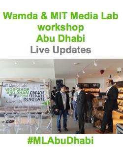 Wamda MIT Media Lab innovation workshop Abu Dhabi