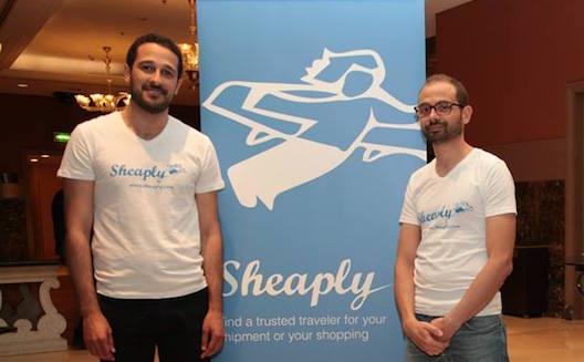 Les cofondateurs de Sheaply Hicham Zarrouky et Yassine Zyad
