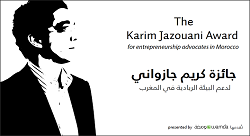 Announcing the first winner of the Karim Jazouani Prize