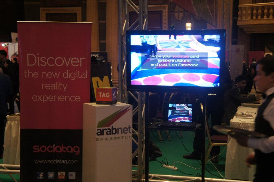 Sociatag at ArabNet