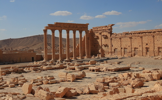 Syria's Palmyra has been a subject of looting and destruction.
