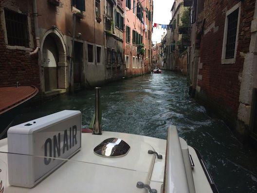 The Safina Radio project in Venice