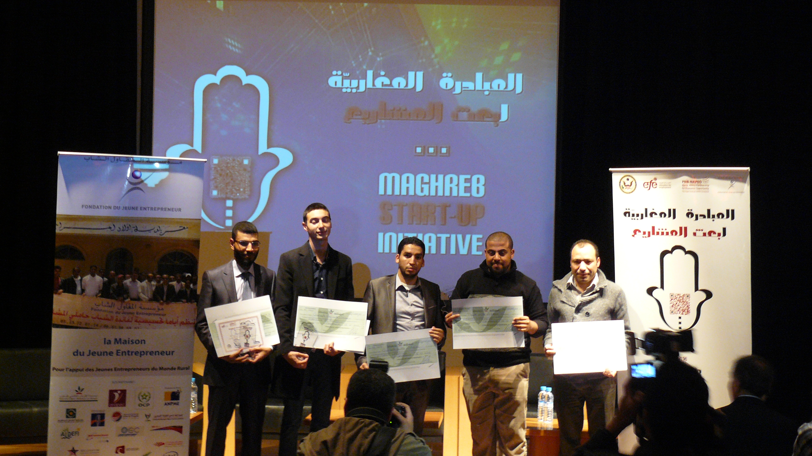 Moroccan Winners of the Maghreb Startup Initiative