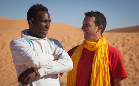 Slimane et Ismail face au désert