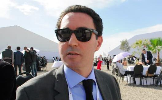 Omar Balafej, directeur du Technopark