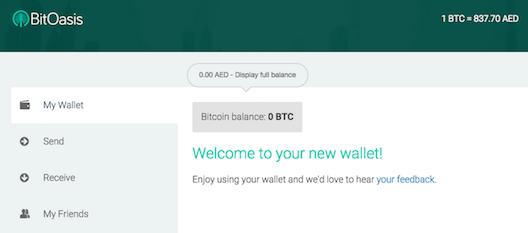 BitOasis wallet