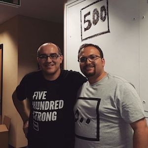 Hasan Haider and Dave McClure
