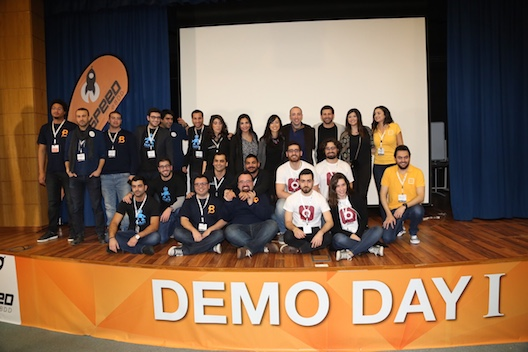 The demo day startups of Speed