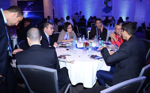 Networking at CEED Global Annual Conference 2014