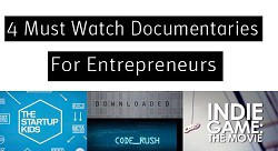 Must watch documentaries for entrepreneurs