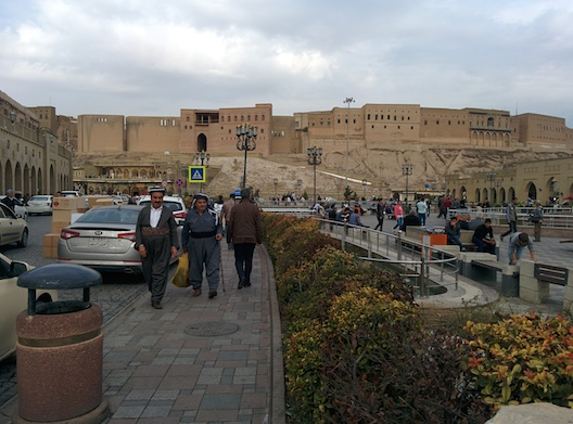 Erbil's famed citadel is still abuzz