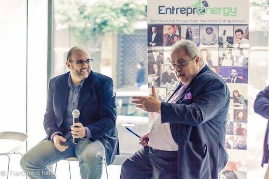 Saiid Saber and Naji Bejjani speak at Energy Boost in Beirut