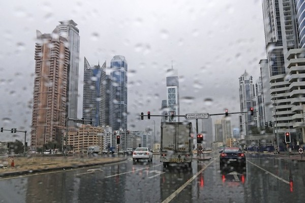 The rains of Dubai