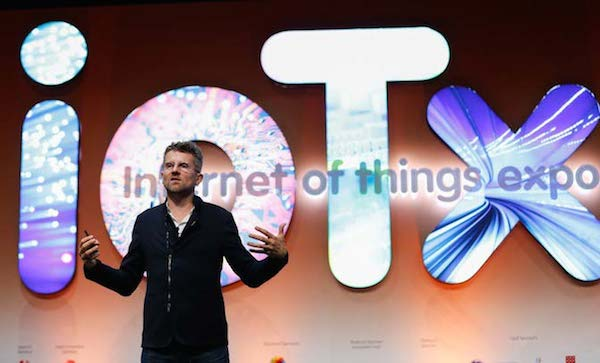 Professor Carlo Ratti at Dubai's ioTx summit in June 2015
