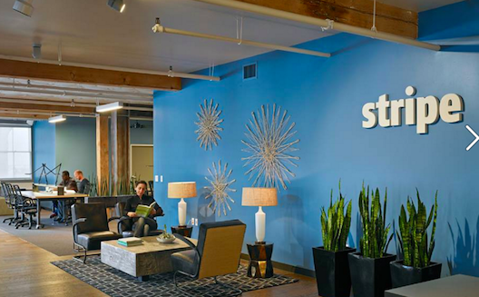 Stripe's offices