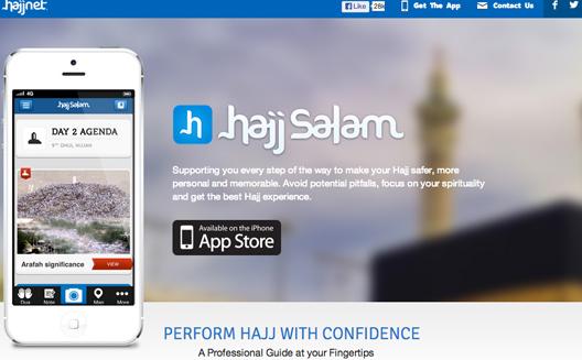 Hajj Salam mobile application