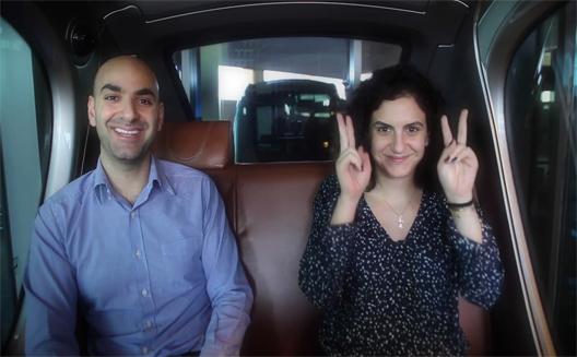 Habib Haddad and Hind Hobeika