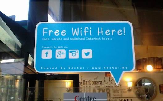 Le wifi gratuit, un atout pour les commerçants