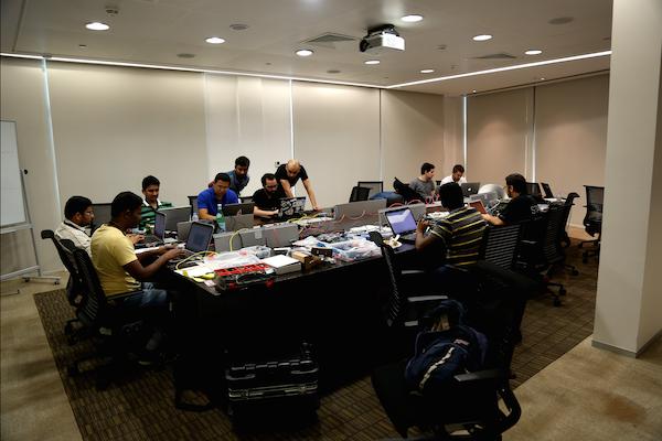 Coders at IoT World Forum Hackathon