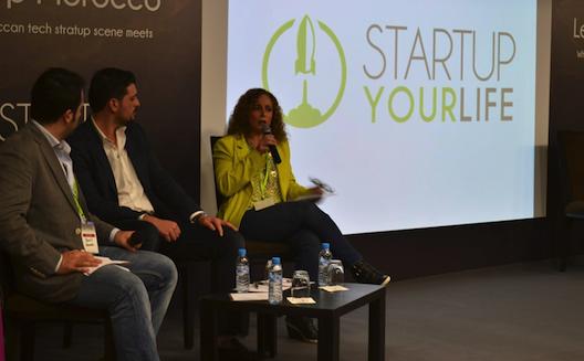 Jamil Wyne de Wamda, Karim Samakie de Oasis500 et Magda Habib de Cairo Angels