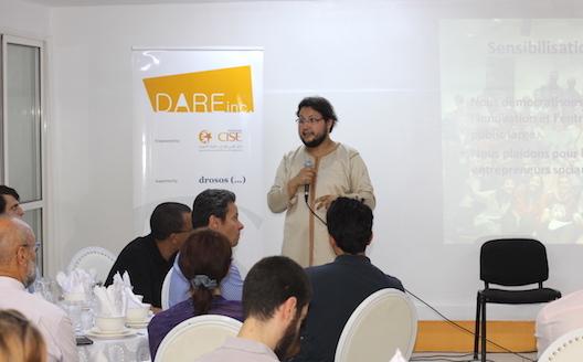 Adnane Addioui donne le coup d'envoi de Dare Space